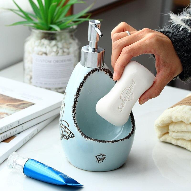 Купить простая керамическая бутылка для лосьона креативная хранения