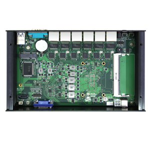 Image 4 - BEBEPC 6 LAN جدار الحماية جهاز كمبيوتر صغير إنتل كور i3 7100U سيليرون 3955U 3855U راوتر Pfsense ويندوز 10 لينكس الكمبيوتر الصناعي