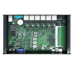 Image 4 - BEBEPC Mini PC industriel Windows 10/Linux Intel Core i3 7100u/3855U/Celeron 3955U, 6x LAN, ordinateur pour routeur/pare feu Pfsense
