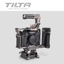 Tilta DSLR cage for Fujifilm XT3 X T3 and X-T2 Camera TA-T03-FCC-G Full cage Top Handle handgrip Fujifilm xt3 cage accessories(China)