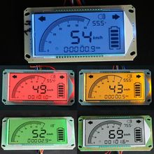 Electric Motorcycle Dashboard Speedometer Voltmeter Thermometer Odometer 48V-72V