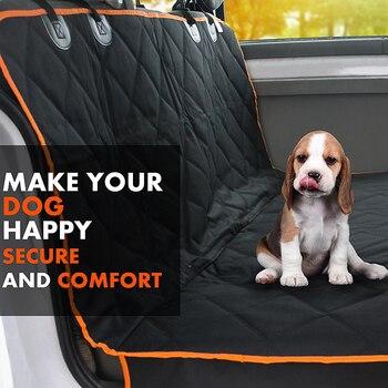Pet Dog Car Seat Portante Della Copertura Posteriore Posteriore Coperta Zerbino Antiscivolo Pieghevole Cuscino Zerbino Per Cani Pieghevole Coperte Prodotti Per Animali Domestici