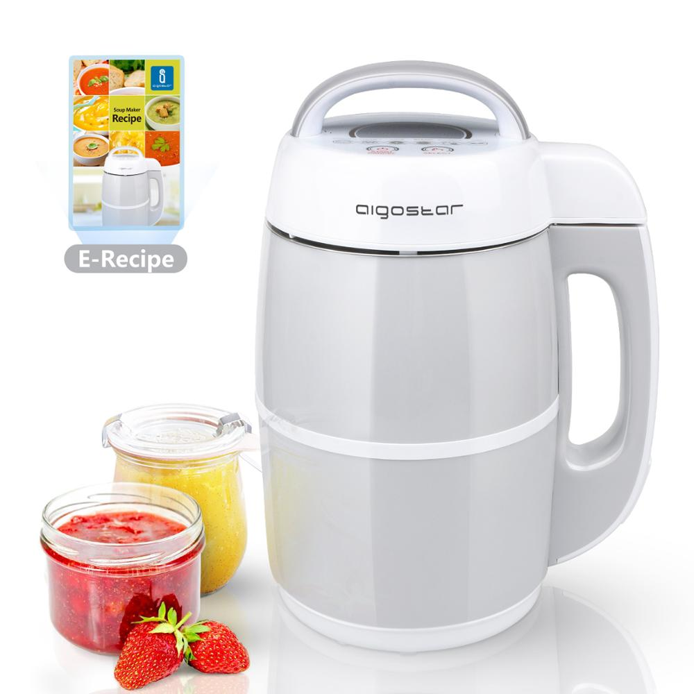 Aigostar Beanbaby SOY MILK Maker/Soup Maker Cuoci And Frulla, Included Recipe Book PDF. 1.7L, BPA FREE.