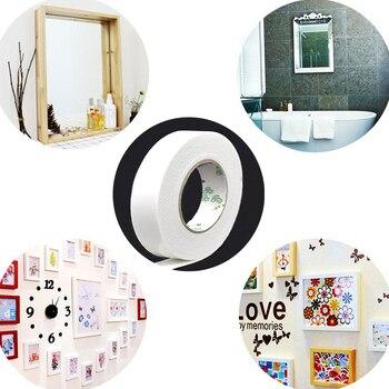 Espuma blanca de la cinta adhesiva de doble cara para cartel pared pinturas artesanía teléfono panel LCD coche accesorios ancho 10mm-50mm de longitud 4,5 M