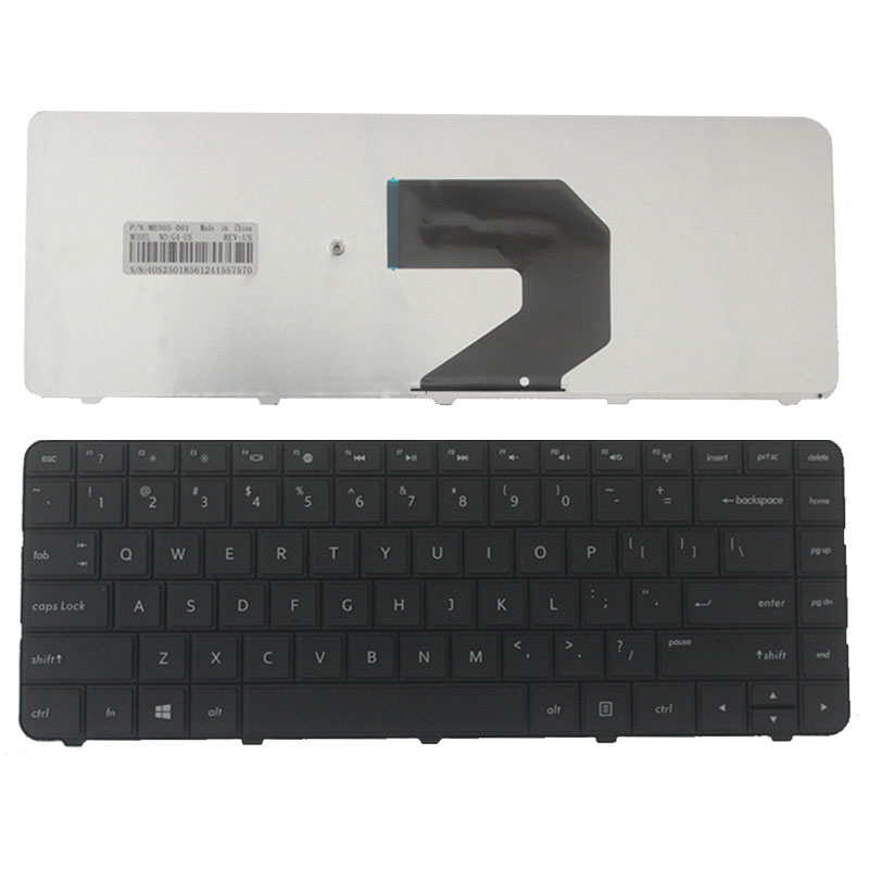 New For HP 250 255 G1 430 431 435 436 450 455 630 631 635 636 650 655 Compaq US Black Keyboard image