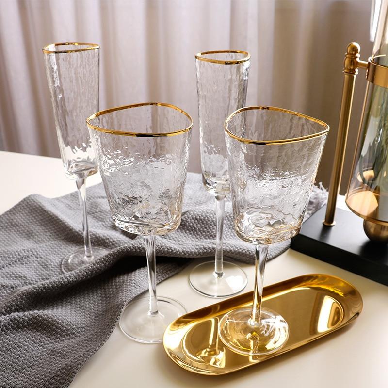 Creative Phnom Penh Crystal Glass Small Wine Glasses Champagne Glasses European Tall Wine Glasses Glass Red Wine Glasses