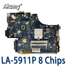 Laptop Acer Aspire NEW75 LA-5911P 5552G 8-Chips The for with Graphic-Card MBR4302001