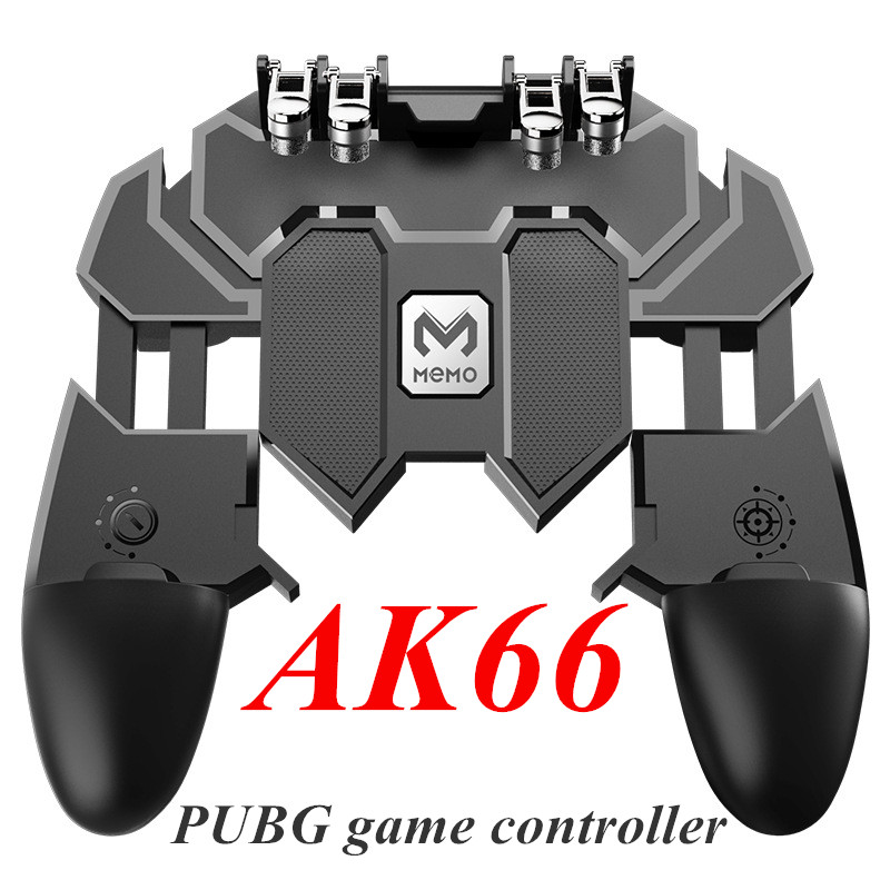 AK66 Pubg контроллер шесть пальцев геймпад мобильный игровой контроллер Pubg свободный огонь Кнопка Джойстик Геймпад L1 R1 триггер для PUBG