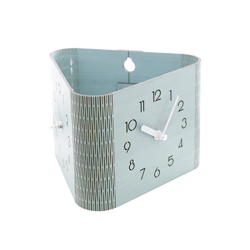 3d Metal Wall Clock Modern Design Living Room Digital Antique Double Sided Self Adhesive Clocks Nordic Klok Home Decoration EE50