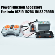 MOC IR RC Tracked Remote Control Motor Power Function 10219 10254 10183 75955 Train Fit Legoings Technic Building Block Brick