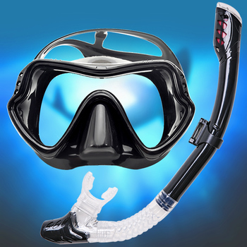 Professional Scuba Diving Masks Snorkeling Set Adult Silicone Skirt Anti-Fog Goggles Glasses Swimming Fishing Pool Equipment