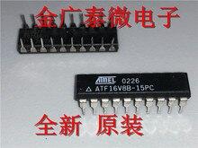 5/за штуку Бесплатная доставка ATF16V8B-15PC платины C прямой штекер Dip20 программируемого логического устройства Фирменная Новинка
