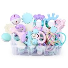13Pcs Baby Toys Hand Hold Jingle Shaking Bell Lovely Hand Sh