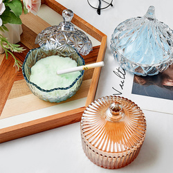 Glass Ashtray Transparent with Lid Portable Ashtray Water Drop Model Home Decoration Smoking Accessories For Weed Cute For Girls