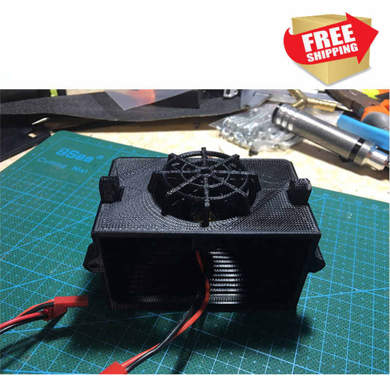 RC Capo JKMAX radiator water tank with fan CD15827 SCALE RC WRANGLER CRAWLER TRUCK