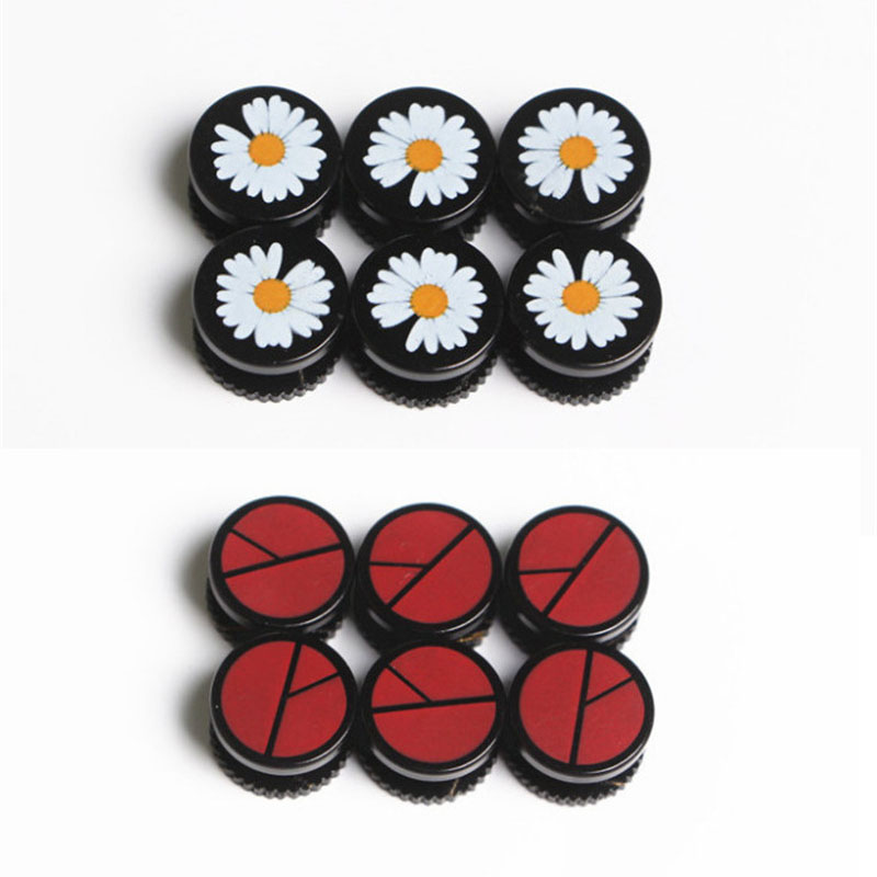 KPOP G-Dragon Daisy Design Badges Shapes Screw Shoe Buckle Kwon Ji Yong Unisex Decor JH3
