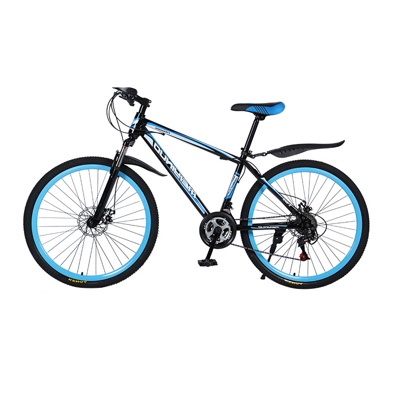 Bike Mountain Bicycle 26 Inch Road Bikes Student Adult Ultra Light Weight Speed Portable 21 Speed High Carbon Steel Frame Bike