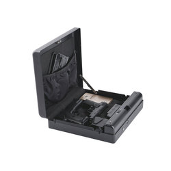 Gunsafe gunbox tragbare pistole auto sicher gun box ammo metall fall safes Code können safebox keybox strongbox boxen sicherheit sicherheit