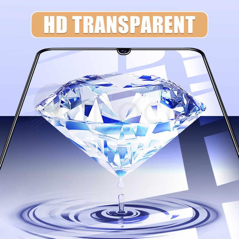 الزجاج المقسى لسامسونج غالاكسي A30 A50 واقي للشاشة 9H سلامة طبقة رقيقة واقية على A10 A20 A40 A60 A70 A80 A90 m20 M30 M40