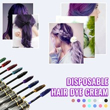 Ohico Disposable Hair Dyeing Cream Mofajang Color Temporary Pastel Hair Dye Color Paint Hairdressing Supplies Temporary Dyeing