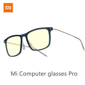 Image 1 - Xiaomi Mijia Anti Blue Mi computer Glasses Pro Anti Blue Ray UV Fatigue Proof Eye Protector Mi Home Glass