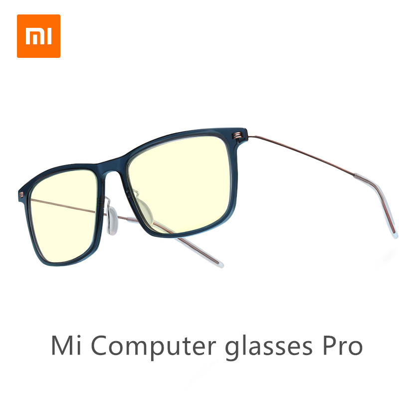 Xiaomi Mijia TS Anti-Blue Mi Computer Glasses Pro Anti Blue Ray UV Fatigue Proof Eye Protector Mi Home TS Glass