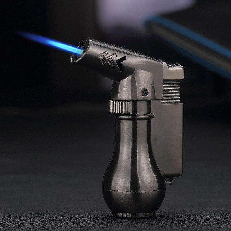 Gas Lighter Spray Gun Turbo Lighter Gadgets for Men Electronic Lighters Metal Lighter Mini Lighters Smoking Accessories