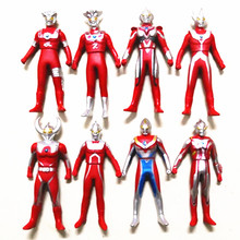 Assembled Ultraman Battle Monster Kaiju Model Toy Superman Children Christams Gifts Joints Movable Altman Action Figures