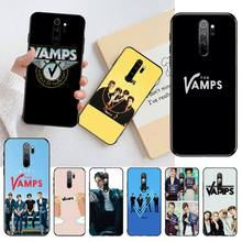 PENGHUWAN Handsome Music Band The Vamps Boy Phone Case cover Shell for Redmi Note 8 8A 7 6 6A 5 5A 4 4X 4A Go Pro Plus Prime
