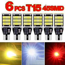 6x T15 t16 W16W 45smd LED Canbus  912 921Back Up Reverse Car Light for Honda Civic Coupe 2006-2011 2017 Highlight led White red 4 pcs ignition coil 30520rnaa01 for honda civic dx coupe 2 door 1 8l 2006 2011 oe c1580 uf 582 30520rnaa01 car accessories