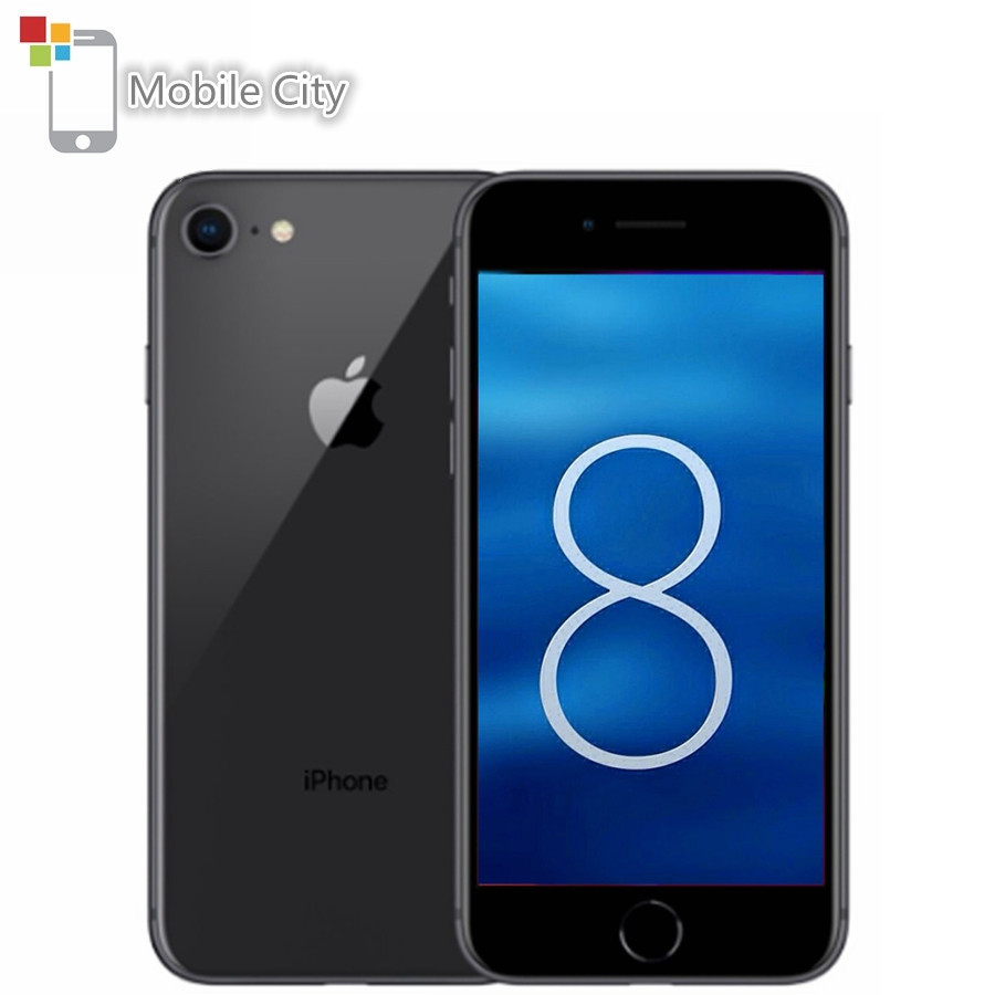 Entsperrt Apple iPhone 8 Smartphone Apple A11 Hexa-core iOS 11 12MP Kamera 4,7 inch Touch Screen Touch ID 4G LTE Handy