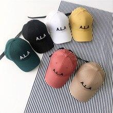 Dei bambini di estate Lettera Del Ricamo berretto da baseball per Ragazzi e Ragazze Bambini Casual Regolabile Cotone snaback cappelli Casquette gorros