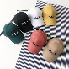 Summer Childrens Letter Embroidery baseball cap for Boys and Girls Kids Casual Adjustable Cotton snaback hats Casquette gorros