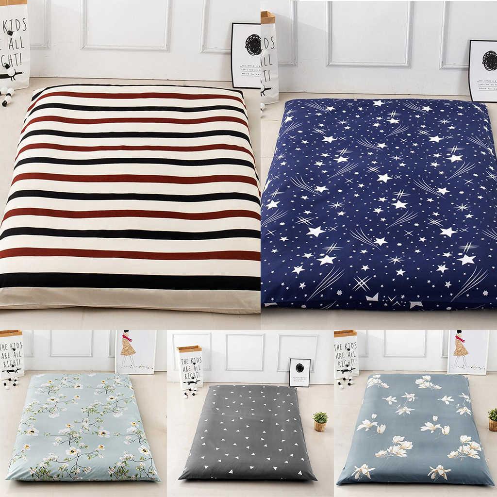 Polyester Tatami Futon Mattress Cover Floor Mat Bedspread 90 200cm 120 200cm Pillow Case Aliexpress