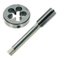 Brand New And High Quality 1/2-Inch-28 UNEF Right Hand Thread Tap & Die Set 1 / 2-Inch X 28TPI RH HSS 1 2 28 unef 5 8 24 unef hand tap round die cut hss right hand tapping tool for hand tap tools tapping set