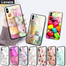 WEBBEDEPP PINK Heart Dessert Glass Phone Case for Apple iPhone 11 Pro X XS Max 6 6S 7 8 Plus 5 5S SE