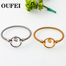 love Bracelets for Womens friendship gold bracelet charm stainless steel silver bangle woman Jewelry accesories