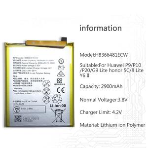 Image 2 - HB366481ECW Mobile Phone Battery for Huawei Honor 5C 7C 7A Pro 6C 6A 7A 7S 6 7i 6X 7 6 Plus PE TL20 UL00 TL10 CL00 Battery