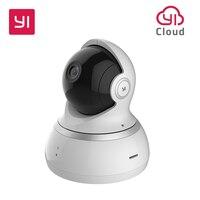 يي كاميرا بشكل قبة 1080P اللاسلكية IP نظام مراقبة الأمن 360 درجة التغطية للرؤية الليلية الاتحاد الأوروبي خدمة سحابة المتاحة-في كاميرات المراقبة من الأمن والحماية على