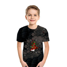 Summer T-shirt for a boy 3D printed children clothes short-sleeved round neck casual girls Tshirt 2020 fashion Kids clothing Top children s clothing new summer 2020 fashion children s short sleeved t shirt