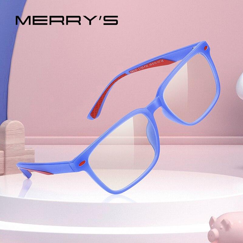 MERRYS DESIGN Anti Blue Light Blocking Glasses For Children Kids Boy Girl Computer Gaming Glasses Blue Ray Glasses S7101