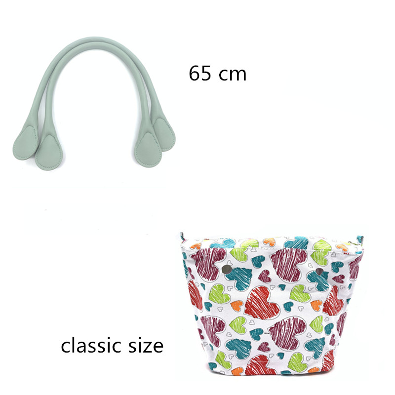 Canvas Bag And Bag Handle Set For Obag Bag