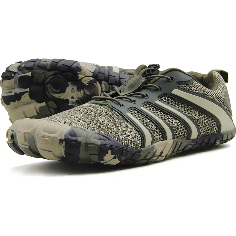 Man Barefoot Workout Shoes Wide Toe Box