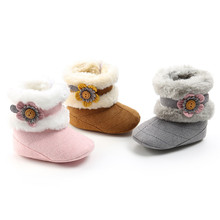 Baby Boots Infant Newborn Girls Boys Outdoor Shoes First Walkers Shoes Booties Children's boots Kicking charge