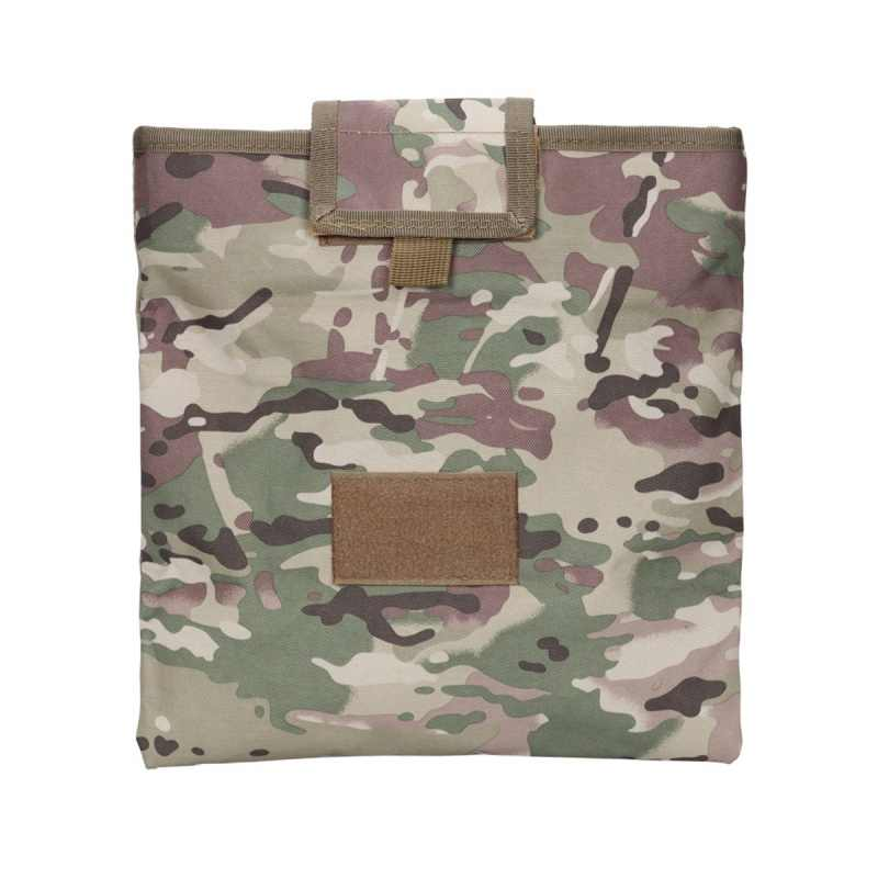 Camouflage folding bag Nylon Magazine Recycling Bags Sundries Emerson Tactical Drop Pouch Airsoft Military Multicam