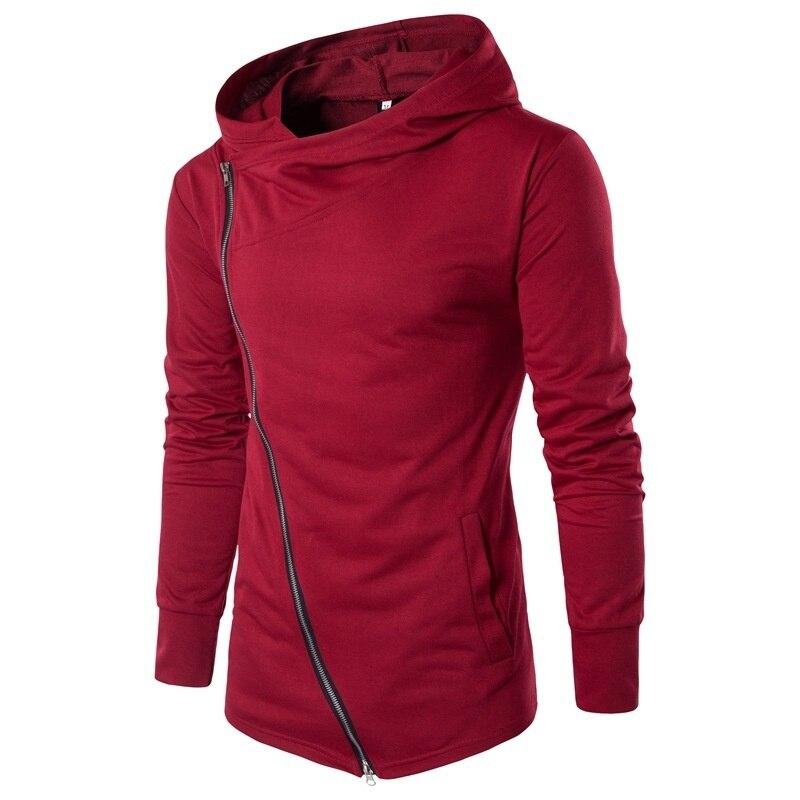 Zogaa novo casaco masculino com capuz, jaqueta