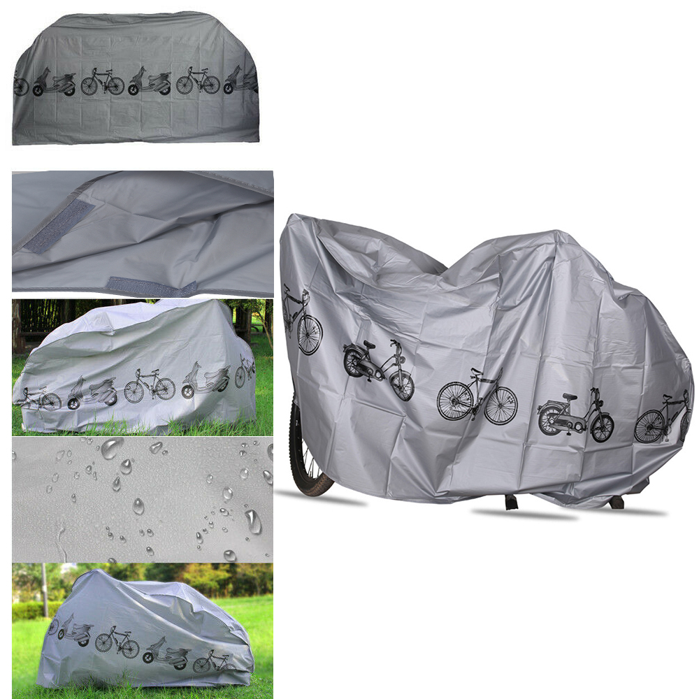 Outdoor Bicycle Cover Portable Waterproof Bike Motorcycle UV Protection Rain Dust Bike Cover Protect Gear Bicycle Accessories