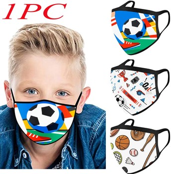 Παιδικές μάσκες προστασίας με cartoon.