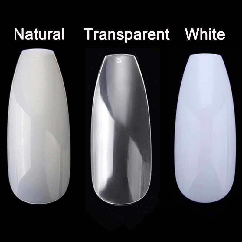 100/500 шт ногти половинные французские накладные ногти для дизайна ногтей акриловые УФ гель для маникюра наконечник @ ME88