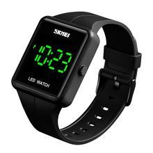 SKMEI montre numérique de Sport pour hommes, montre bracelet électronique, horloge en plein air, natation et plongée, étanche